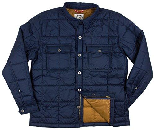 Iron & Resin Rogue Shirt - Navy Large