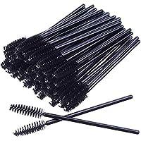 50 Disposable Mascara Eyelash Wands Brush for Eyelash Extension Eyebrow and Makeup