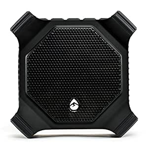 ECOXGEAR EcoDrift Rugged & Waterproof Wireless Bluetooth Speaker with Integrated Siri & Google voice control - Black