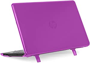 "mCover Hard Shell Case for 15.6"" HP 15-bsXXX (15-bs000 to 15-bs999) Series or HP 15g-brXXX or HP 15q-buXXX Series (NOT Fitting 15"" Pavilion or Envy laptops) Notebook PC (HP 15-BS Purple)"