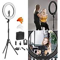 Camera Photo Video Lighting Kit: RL-18″ 55W 240 LED Ring...