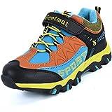 Kids Hiking Shoes Walking Snow Boots Antiskid...