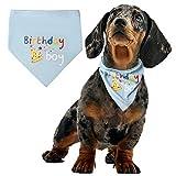 pengxiaomei Dog Birthday Bandana Scarfs, Soft Pet Scarf Pet Birthday Bandana for Dogs Neck Scarf Party Accessories