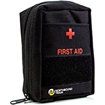 Northbound Train First Aid Kit for Camping - Fully Stocked with Molle Attachments for Tactical First Aid, Travel, and Hiking