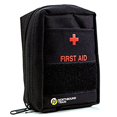 Northbound Train First Aid Kit – Black (65-Items)