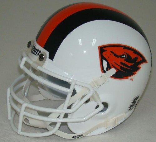 Oregon Mini Helmet Beavers State (NCAA Oregon State Beavers Mini Helmet, One Size, White)