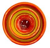 Decorative Salsa and Condiment Bowl Set (Sol Design) - Hand Painted in Spain