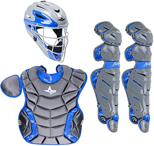 AllStar System 7 Youth Camo Catchers Set Ages 912