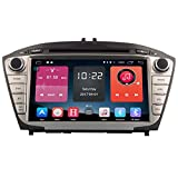 Autosion In Dash Android 6.0 Car DVD Player Sat Nav Radio Head Unit GPS Navigation Stereo for Hyundai IX35 Tucson 2009 2010 2011 2012 2013 2014 2015 Support Bluetooth SD USB Radio OBD WIFI DVR 1080P