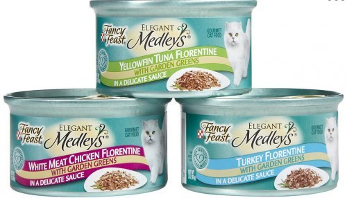 Fancy Feast Elegant Florentine Variety Pack Canned Cat Food 3 oz, case of 24