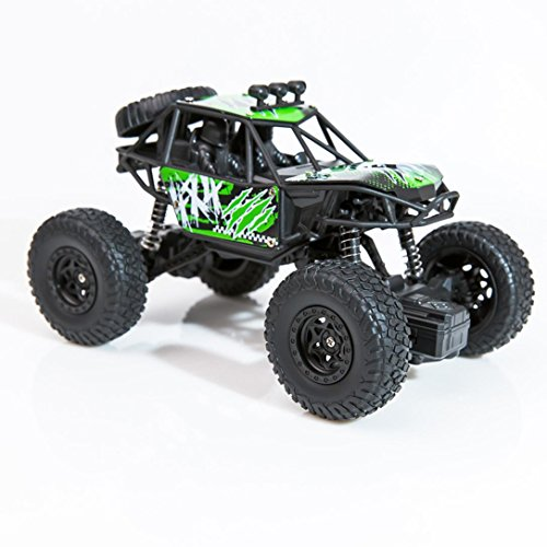 Gbell 1:22 RC Vehicle High Speed Truck Car, 2.4Ghz Remote Controlled 2WD Pickup Car Birthday Gifts for Boys 6-15 Years Old (Green)