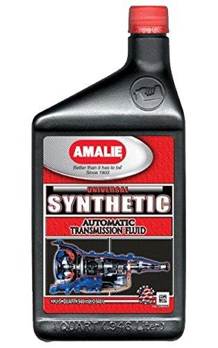 Amalie (160-72866-56-12PK Universal Synthetic Automatic Transmission Fluid - 1 Quart, (Pack of 12)