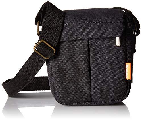 zdMoon Gray Camera case bag Canvas for Sony A5000 A5100 A6000 NEX-5T 5R NEX-7 NEX-6 (Sony A5000 Carrying Case)