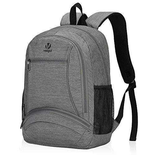 Hynes Eagle Lightweight Sweetheart Pattern Backpack (Gray)