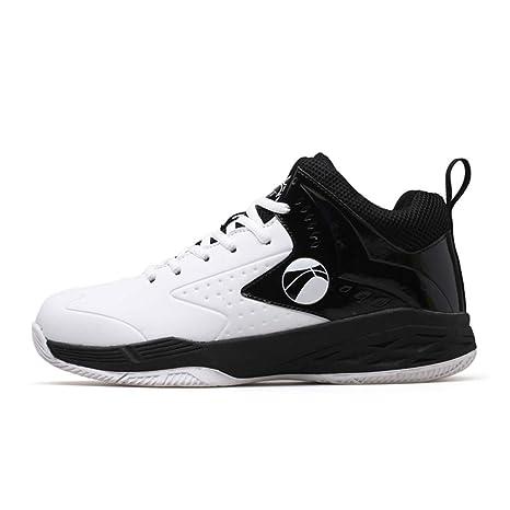 FEI Zapatos de Baloncesto para Hombre, Zapatos de PU Artificiales ...