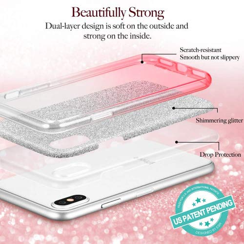 aadc3478ba ESR Makeup Glitter Case for iPhone Xs/iPhone X, Glitter - Import It All