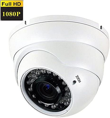 Amview NEW True HD1080P 4-in-1 TVI AHD CVI OR 960H HD 2.6MP 2.8-12mm Varifocal Zoom 36pcs IR LEDs CCTV Surveillance Security Camera