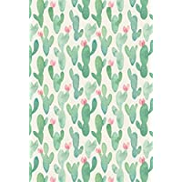 LFEEY 6x9ft Cartoon Cactus Pattern Backdrop Hand Drawing Cute Cacti Flos Children Kids Birthday Party Decor Wallpaper Newborn Baby Portrait Backgrounds for Photography Photo Studio Props