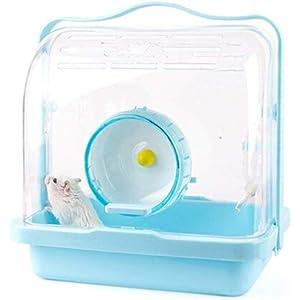 XuBa Hamster - Caja de Transporte portátil para Mascotas, Jaula para dragón, Gato,