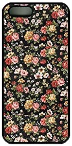 Vincent Van Gogh's Still Life with Meadow Flowers and Roses- the For Iphone 5/5S Case Cover Iphone 5/5S-NOT THEIphone 5/5S!!!-Hard Black Plastic Outer Case with Tough Black Hard Lining