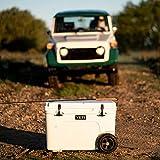 YETI Tundra Haul Portable Wheeled Cooler, White