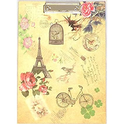 vintage style shabby chic office design. A4 Vintage Retro Stamp Design Clip Board Clipboard Shabby Chic School Work Vintage Style Shabby Chic Office Design