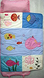 Amazon Com Soho Nap Mat Pink Gold Fish All Hand