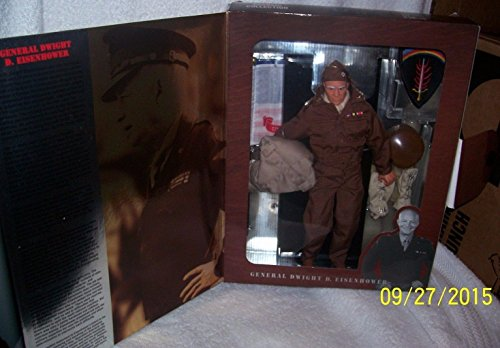 Qiyun 1997 Gi Joe General Dwight D Eisenhower 12 Figure Classic Collection (Eisenhower Gi Joe)