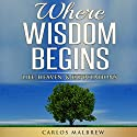 Where Wisdom Begins: Life, Heaven, & Expectations Audiobook by Carlos Malbrew Narrated by John Alan Martinson Jr.