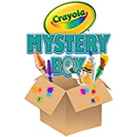Crayola Surprise Art Box, 150 Pieces of Crayola Art Supplies for Kids, Paint, Markers, Pencils, Crayons and More for…
