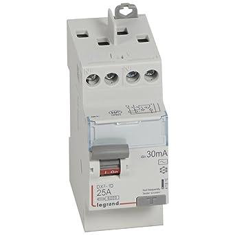 Interrupteur differentiel 40A  Type Ac 30mA  vis//vis   LEGRAND