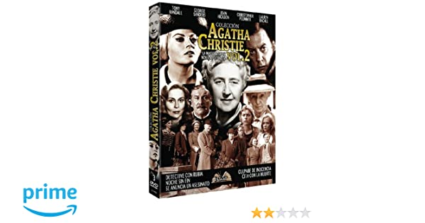 Colección Agatha Christie - Volumen 2 [DVD]: Amazon.es: Tony Randall, Anita Ekberg, Hayley Mills, Joan Hickson, Ursula Howells, Cassie Stuart, Faye Dunaway, ...