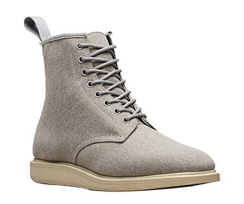 Dr. Martens Mens Whiton 8 Eye Boot Mid Grey Size UK 10 (11 M US Men)