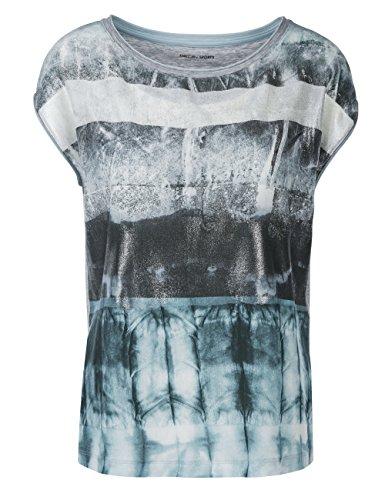 MARC CAIN SPORTS, Blusa para Mujer Blau (wintersky 333)