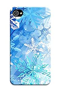 longenology Iphone 4/4S- fashionable New Style Merry Christmas phone protective Case with cool Design Hard TPU case/cover