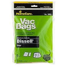 Bissell Zing 5-pack of Vacuum Bags Plus Bonus Zing Filter