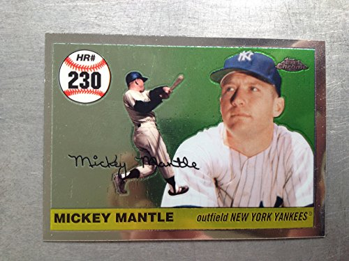 2007 Topps Chrome Mickey Mantle Story MHR230 Mickey Mantle NM/M (Near Mint/Mint)