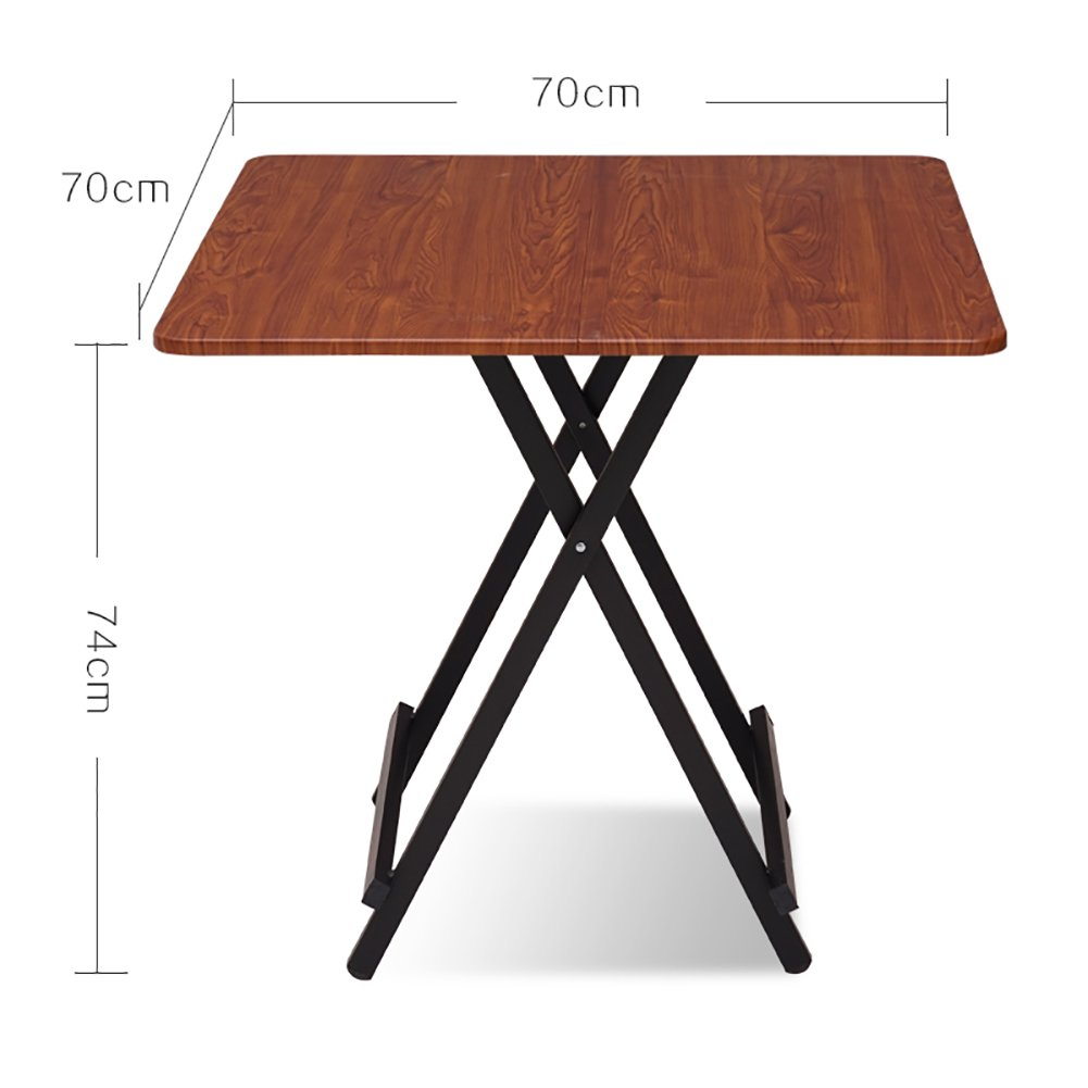 - Amazon.com: TY BEI Small Wooden Folding Table - Kitchen And Dining