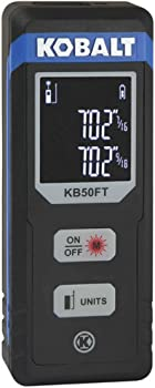 Kobalt 50-Foot Indoor Laser Measure