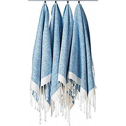 Towel Beach Face ((Set of 4) Unique Hand Face Towel Set 100% Turkish Cotton 20