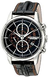 Hamilton Men's H40656731 Timeless Class Analog Display Automatic Self Wind Black Watch
