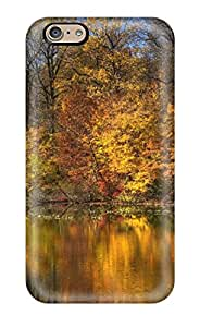 Excellent Iphone 6 Case Tpu Cover Back Skin Protector Autumn Lake 3725225K12378650