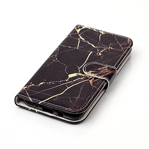 Wallet Case Galaxy J5 (2017 Version) Funda Suave PU Leather Cuero Cubierta Impresión Libro- Sunroyal® Ultra Slim Movil Case Flip Cover Bumper Parachoques Cierre Magnético Función Soporte Plegar,Billet B-04