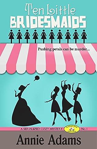 book cover of Ten Little Bridesmaids