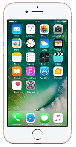 Apple iPhone 7 - Smartphone de 32 GB Color Rosa(Refurbished)