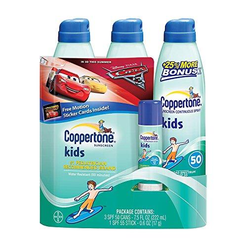 Coppertone Kids Sunscreen Multi pack Stick