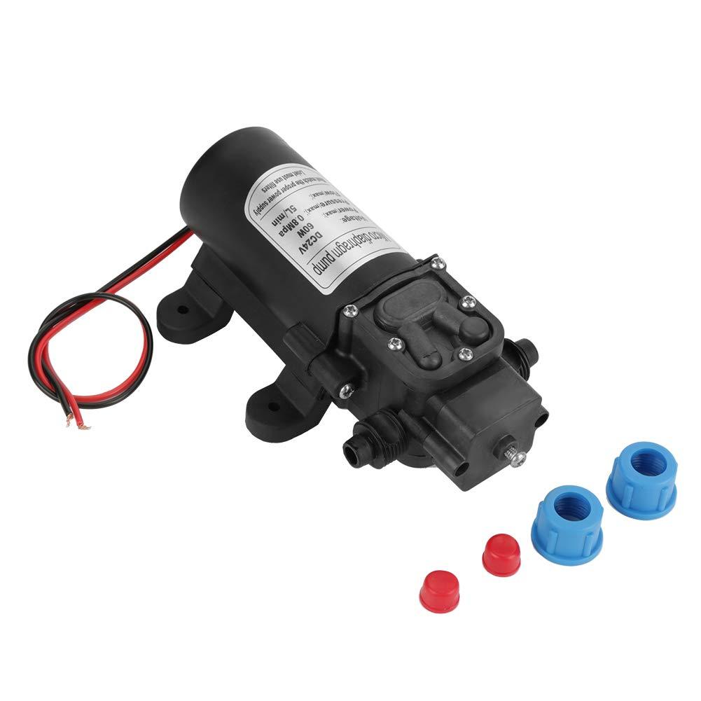 Bomba de diafragma Min bomba de agua autocebante del diafragma el/éctrico de alta presi/ón miniatura de DC24V 60W 5L