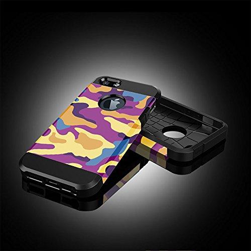"""iPhone 6 Plus / 6s Plus Hülle, iPhone 6 Plus / 6s Plus Schutzhülle, Alfort 2 in 1 Schutzhülle Hart PC + TPU Case Cover Telefon Kasten Vollschutz für Apple iPhone 6 Plus / 6s Plus 5.5"""" Smartphone für Z"""