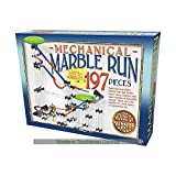 197 Piece Mechanical Marble Run - House of Marbles - Large Giant Game Jump Race by House of Marbles