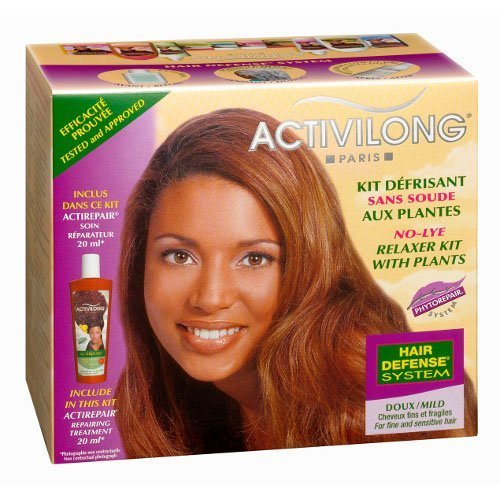Activilong No-lye Relaxer Kit with Plants Mild